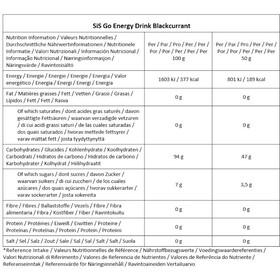 SiS GO Energy Drink Bidon 1,6kg, Blackcurrant